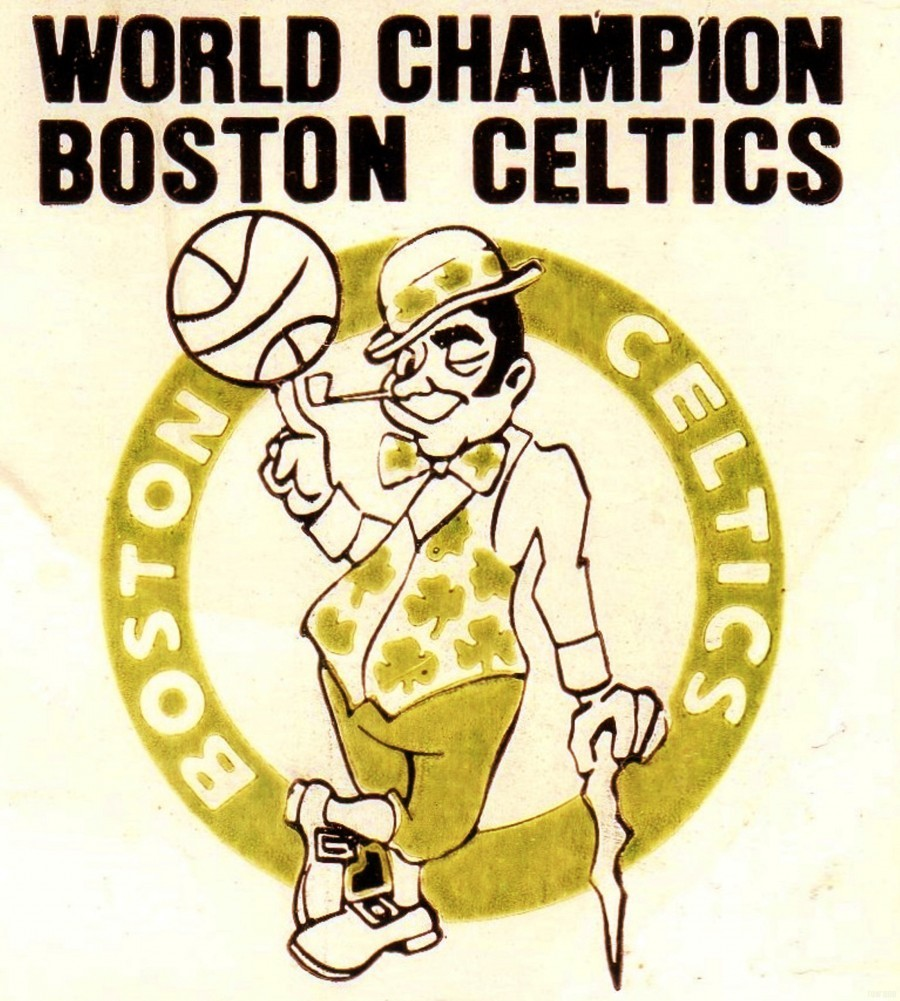 1981 Boston Celtics World Champions Art Reproduction  Print